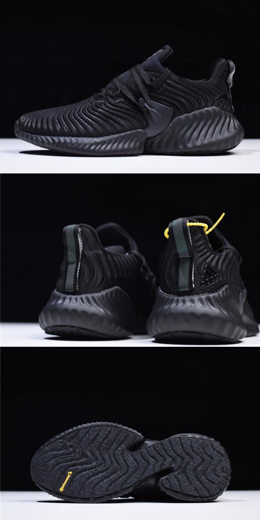 Adidas Alphabounce Instinct Triple Black B76037 For Di 2020