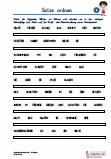 Sätze ordnen Grundschrift | Deutsch 3.Klasse Grundschrift Übungen ...