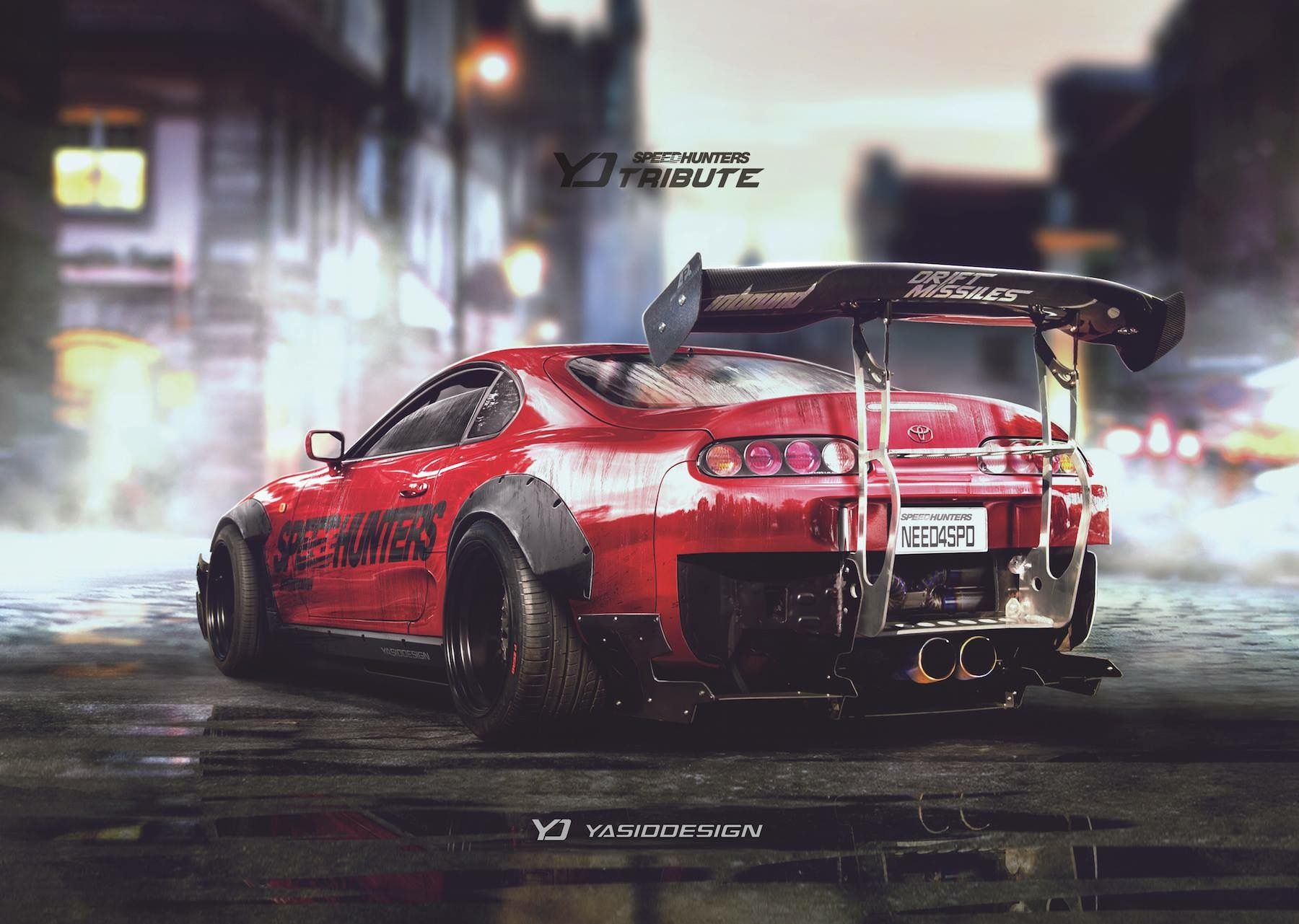 Supra Mk4 Wide Body Jdm Modified Toyota Supra Sports Car Wallpaper Need For Speed Cars