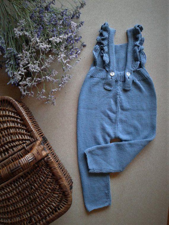 KNITTING PATTERN - Poppy Baby Playsuit PDF Knitting ...