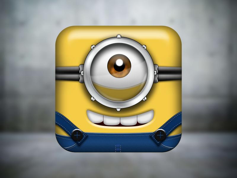 Minion App Icon Minions App App Icon App Icon Design
