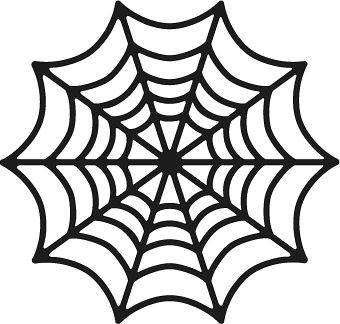 spiderweb free file from svgcuts - Spider Web Halloween