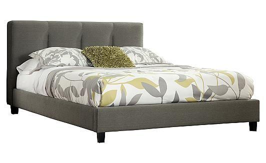 Masterton Upholstered Bed A Sleek Modern Upholstered