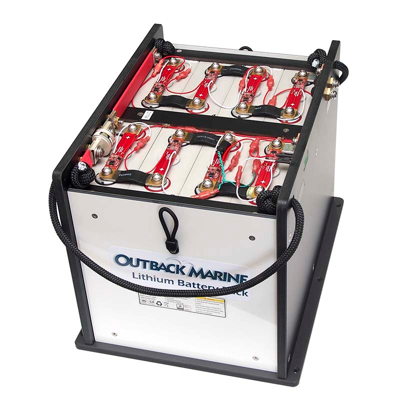 12V 360AH Lithium Ion Battery Pack - PowerTower LBP12V360A - Outback Marine