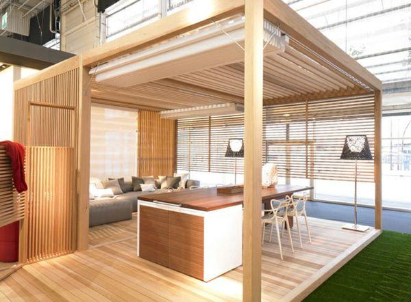 pergola bauen oder wie kann man eine gartenlaube selbst. Black Bedroom Furniture Sets. Home Design Ideas