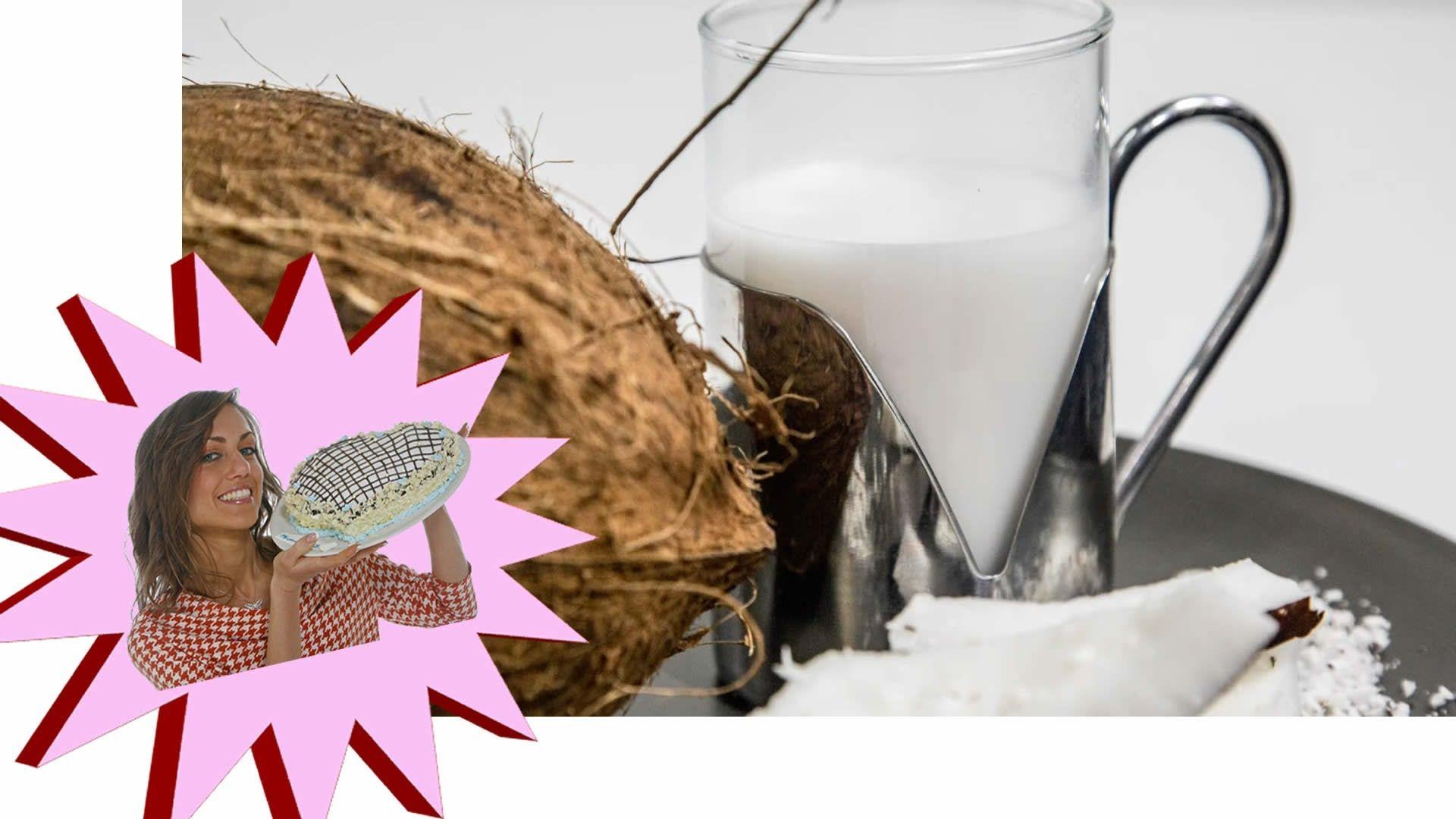 Ricetta Latte di Cocco - Come farlo in Casa - Le Ricette di Alice