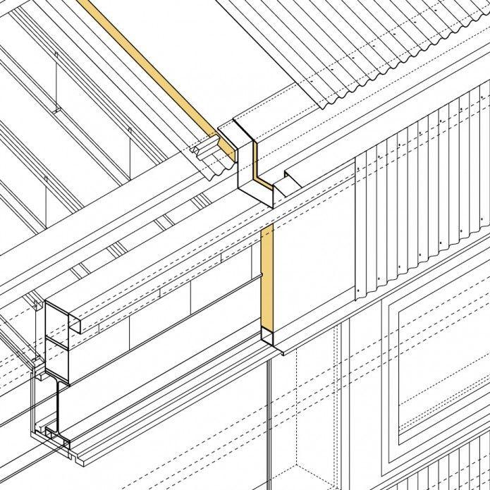 Francisco mangado cubierta fachada y forjados de la casa for Fachada de la casa clasica