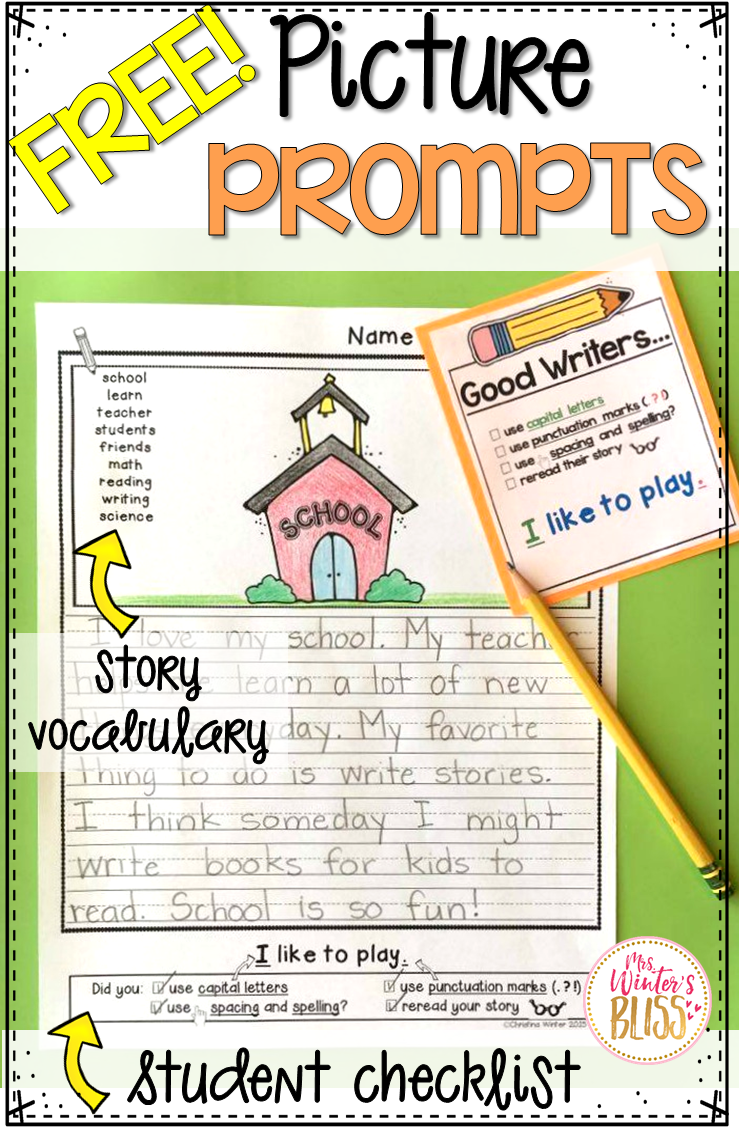 Picture writing prompts for kindergarten, Term paper Example