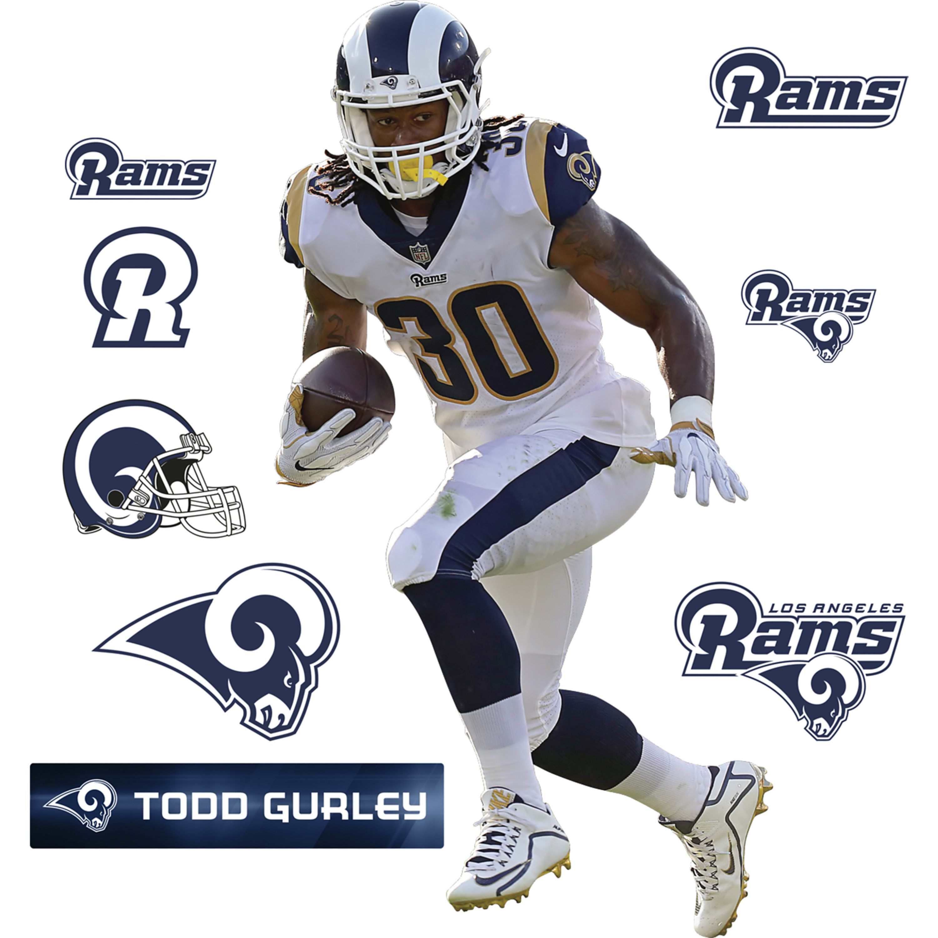 Todd Gurley Todd Gurley Nfl Removable Wall Decals
