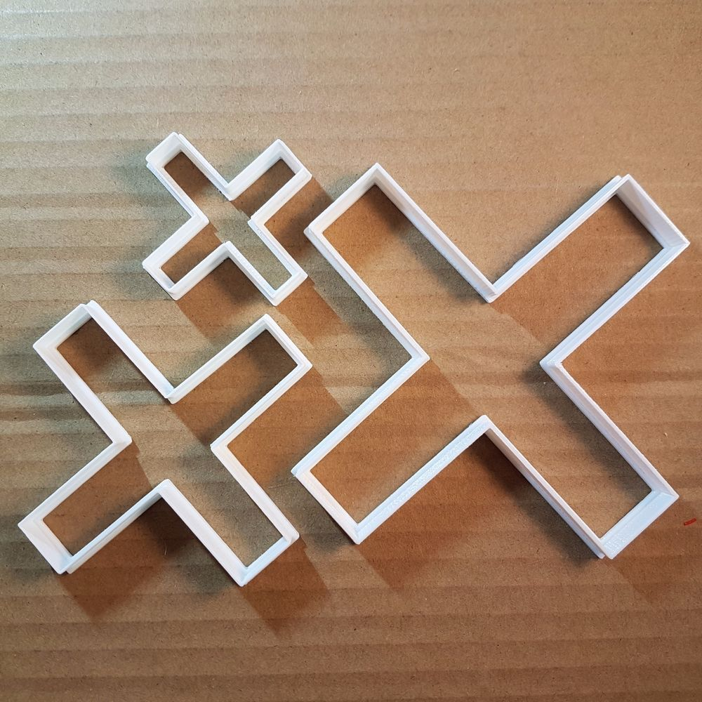 Cross x times symbol math shape cookie cutter dough biscuit pastry cross x times symbol math shape cookie cutter dough biscuit pastry fondant sharp biocorpaavc Image collections