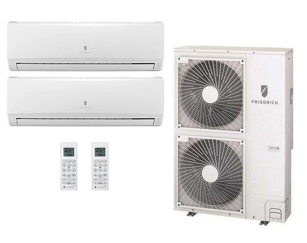 Friedrich 28 200 Btu 16 5 Seer Dual Zone Heat Pump System 9 9