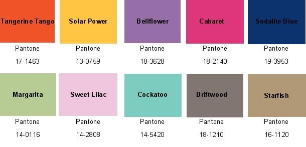 2012 color combinations...