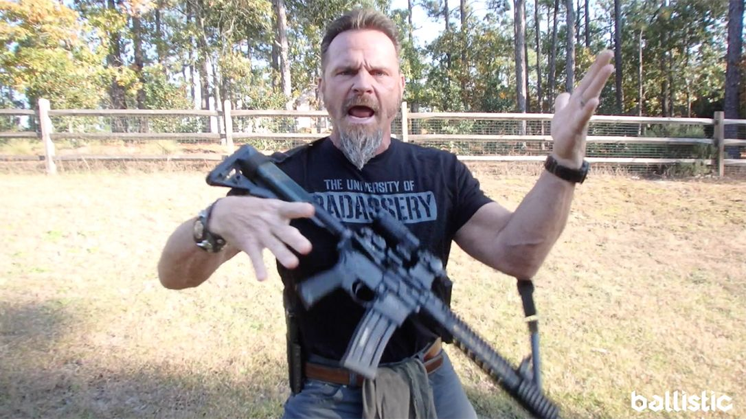 WATCH Why Your Carbine Should Be on 'Safe' During a Mag