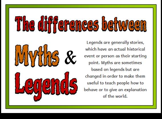 Myths and Legends - Treetop Displays - EYFS, KS1, KS2 classroom ...