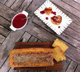 Na cozinha da Pipas: Perfection pound cake e coulis de framboesa