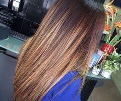 Fryzury Brązowe Włosy Fryzury Długie Na Co Dzień Proste