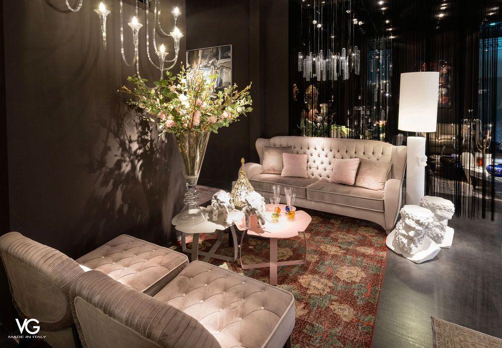 Koket at salone del mobile milan 2017 covet lounge for Bb italia srl