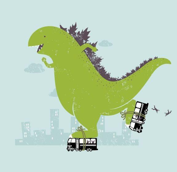Рисунки смешных динозавриков