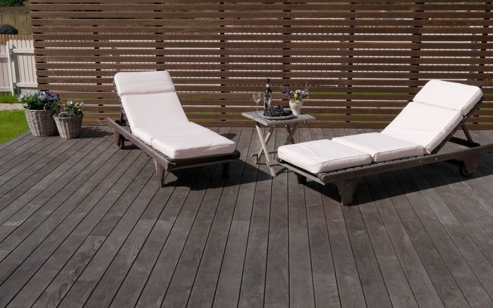 Thermory Solid Ash Wood Decking Building For Health Wood Deck Ash Wood Deck