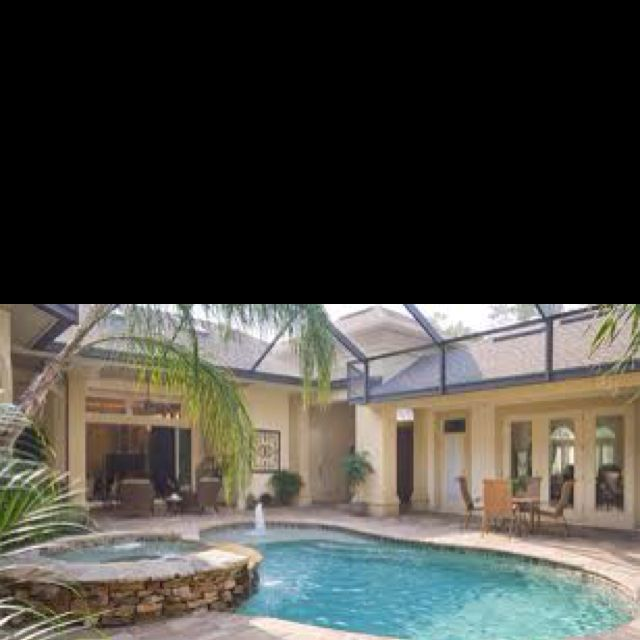 Pool house plans courtyard design indoor outdoor living also pin by  on for the home rh pinterest