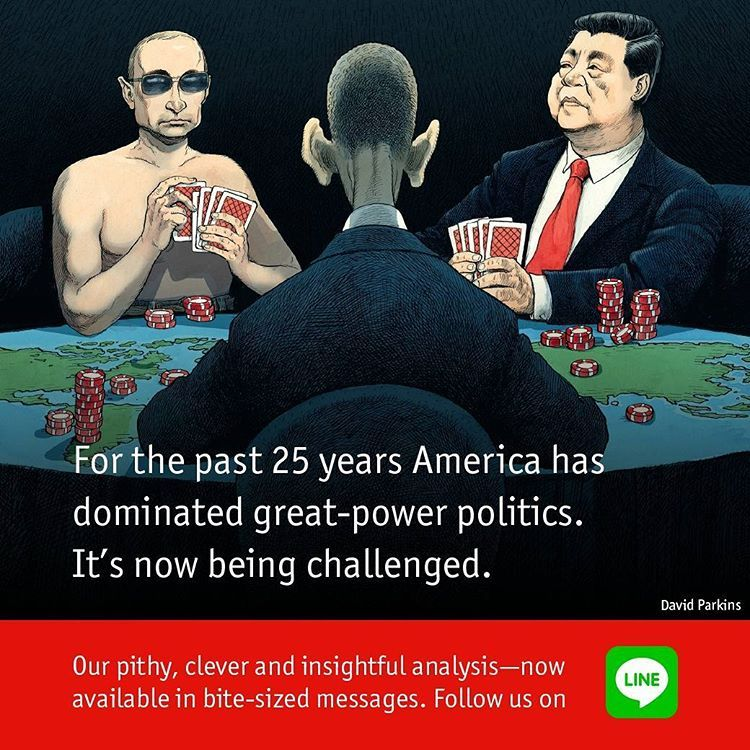 The world explained. One message at a time #messagingapps #theeconomist