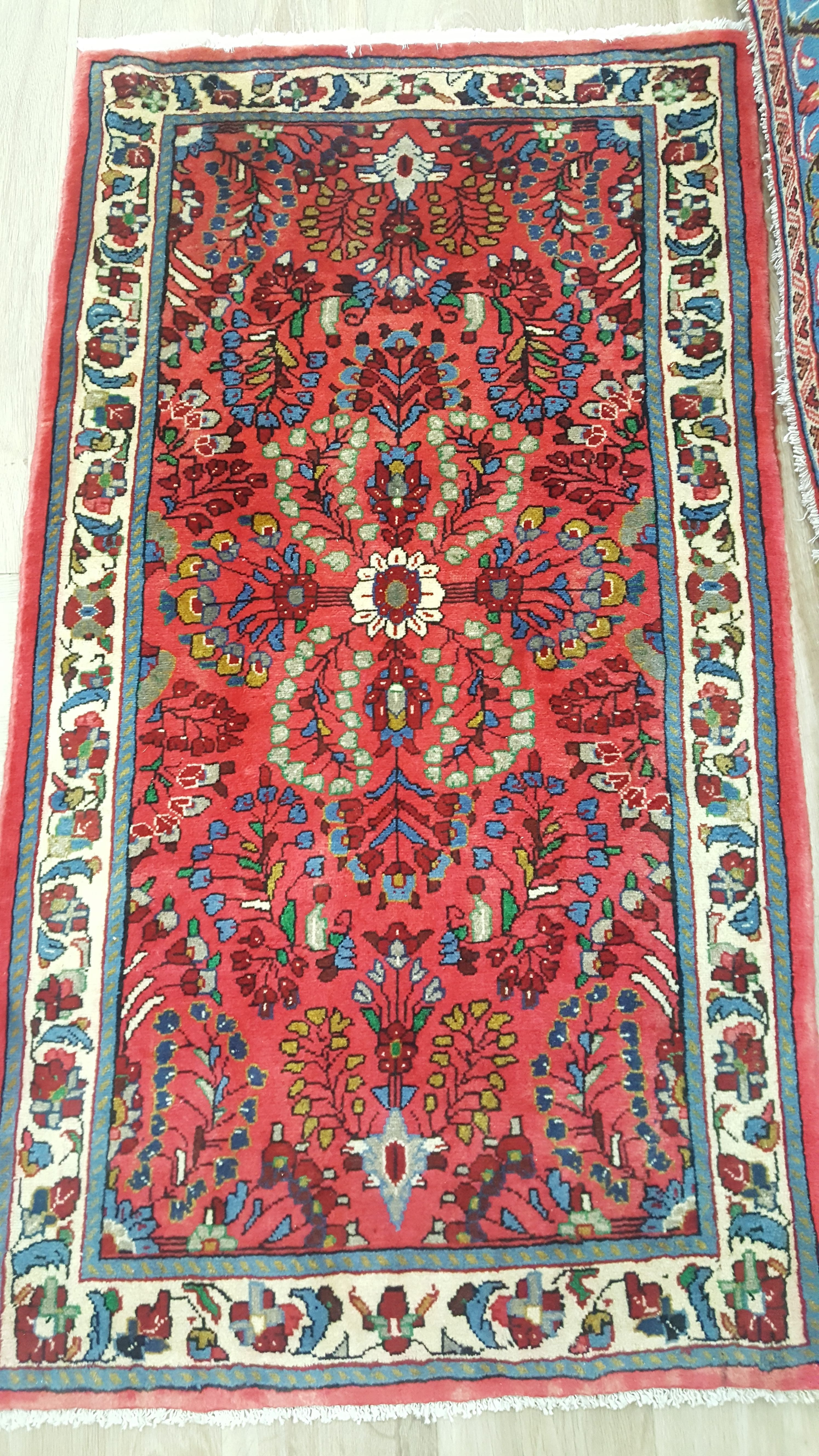 Bright Colors 100 Fine Wool Oriental Handmade Area Rug Authentic Affordable Persian