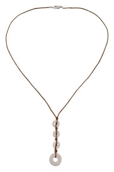 Men's Corded Pendant Necklace - Sheplers