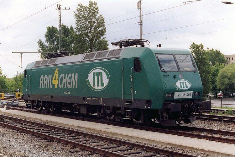 BR 145 CL   ITL Rail4Chem