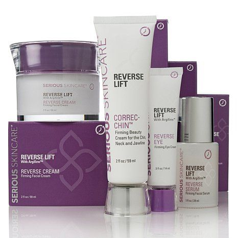 Serious Skincare Reverse Lift Uplift Kit Hsn Skin Bleaching Cream Skin Care Firming Eye Cream