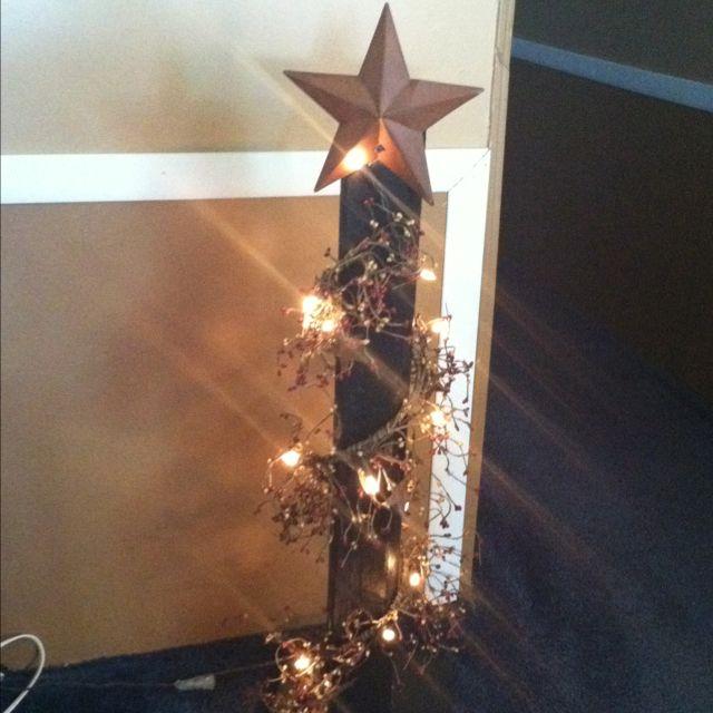 Primitive light stand