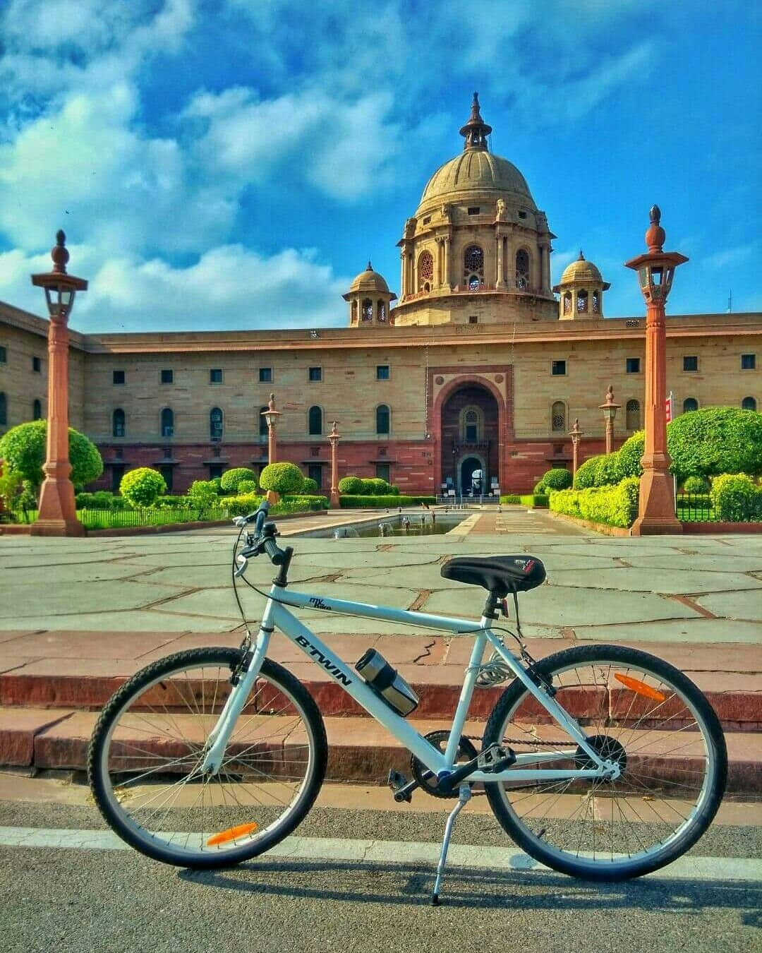 N85 Residence In New Delhi India: FOR YOU: The Rashtrapati Bhavan, Delhi! It Is The Official