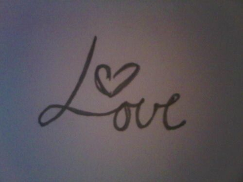 Love With A Heart Tattoo Heart Love Pencil Tattoo Inspiring Picture On Favim Com We Heart It