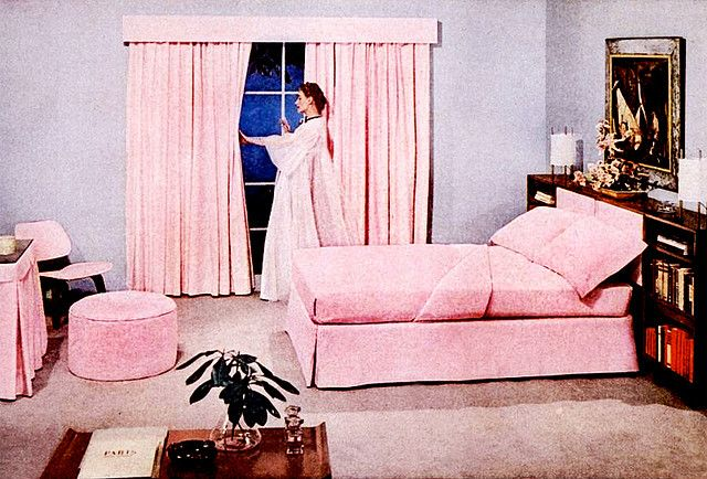 Bedroom 1952 Retro Bedrooms Bedroom Vintage Vintage Bedroom Decor