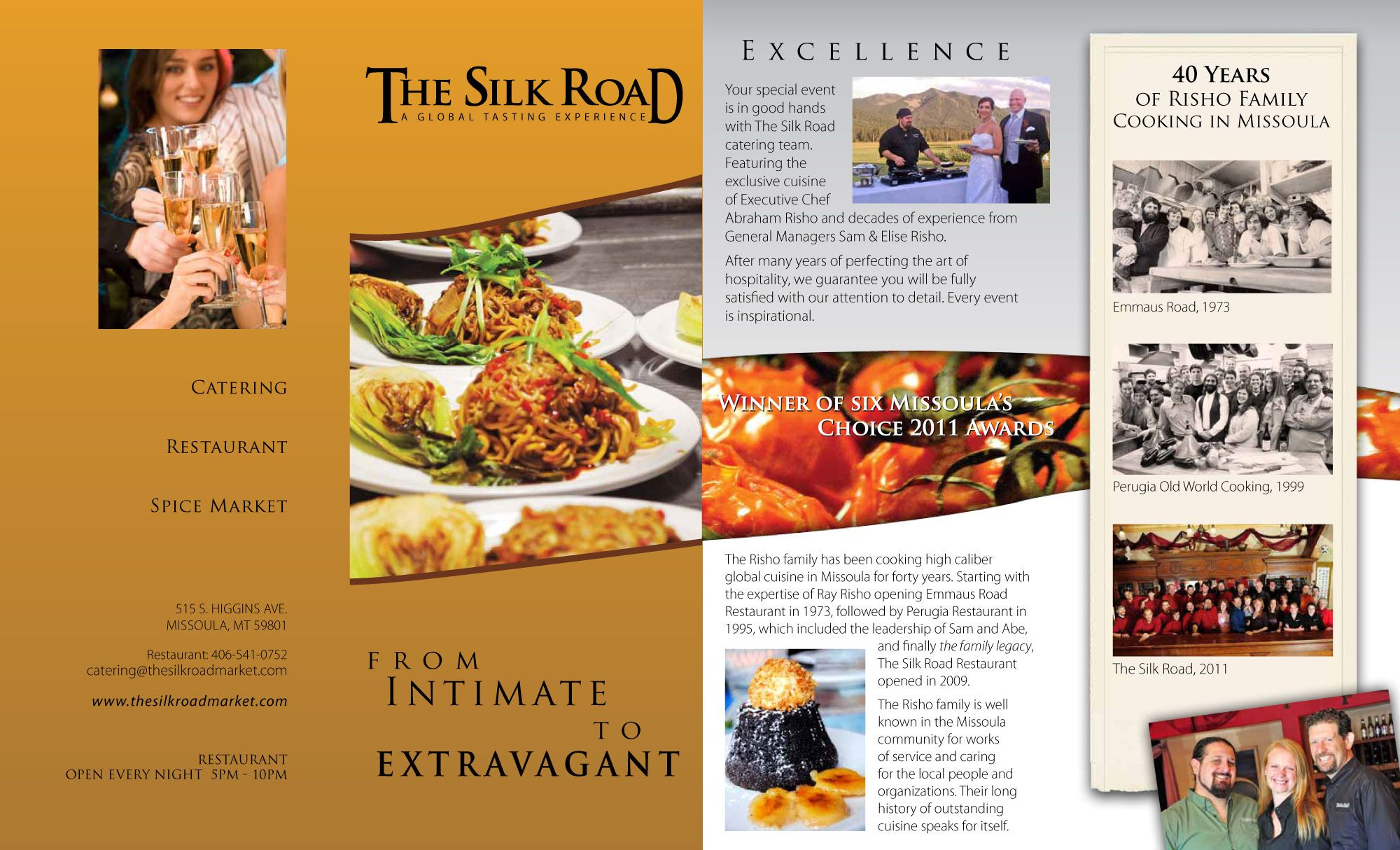 silk road brochure exit 360 creative brochure design pinterest