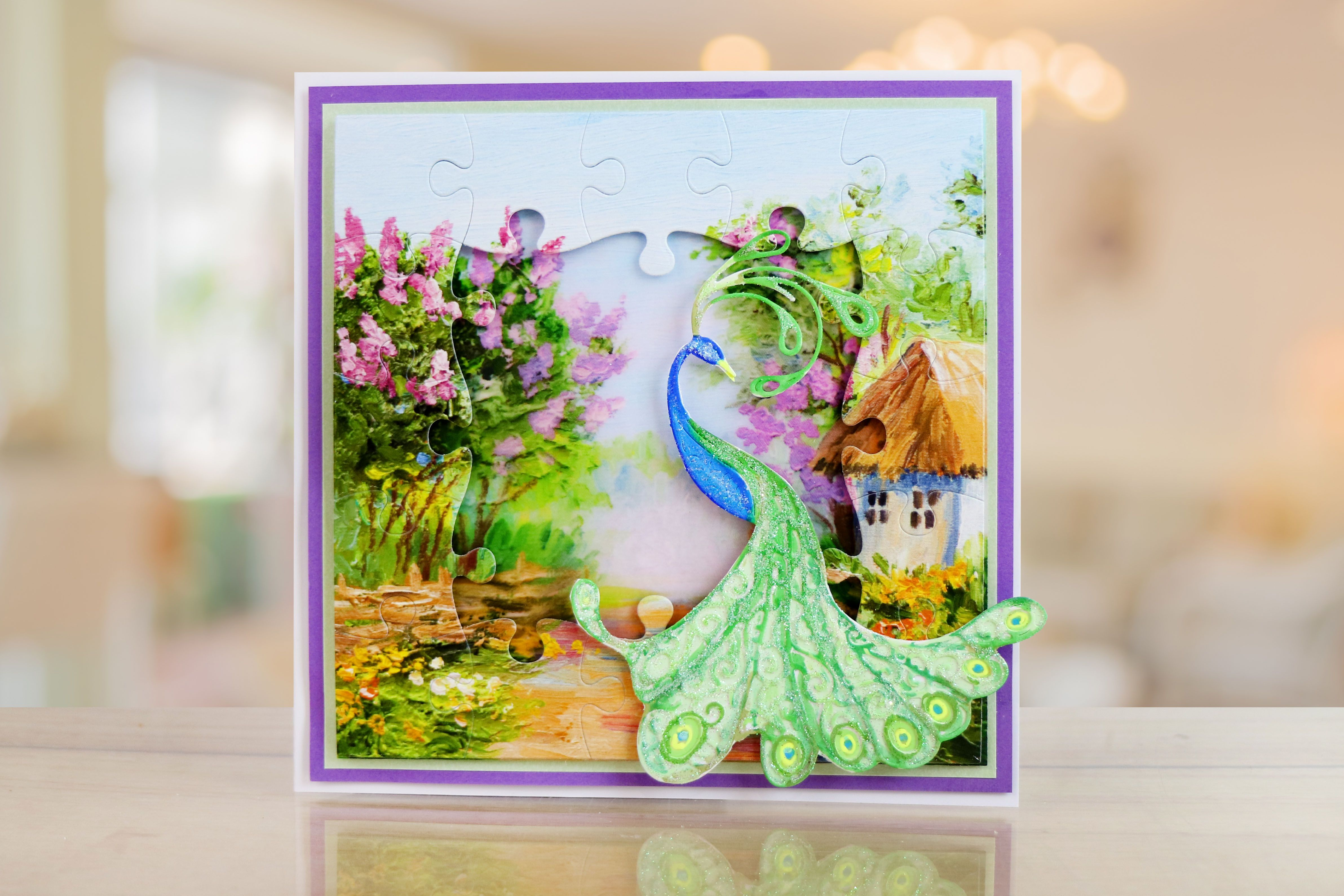 Beautiful greeting card made using the tatteredlaceuk jigsaw die beautiful greeting card made using the tatteredlaceuk jigsaw die and cd rom cardmaking m4hsunfo