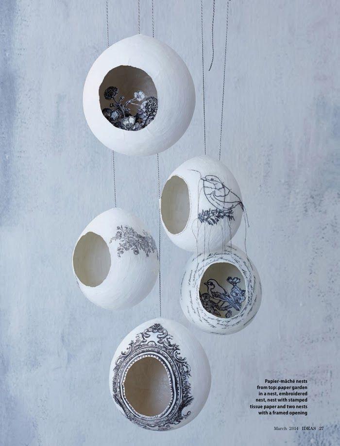 paper mache ideas for home decor