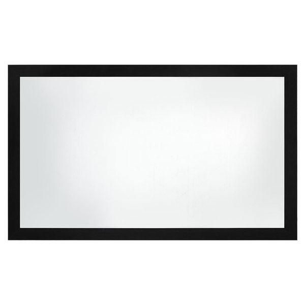 This 100 16 9 Fixed Frame Projection Screen Is The Best Choice For Today S High Contrast Hd Projectors In Commer Projector Screen Frame Design Screen Material