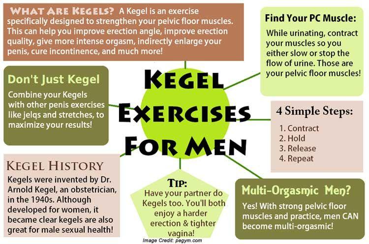 Best Kegel Exercises For Men For Prostate Health Kegel Exercise