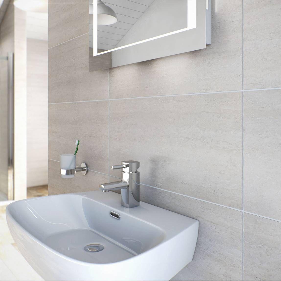 Natalia Bone Glazed Porcelain Floor & Wall Tile 30cm x 60cm ...