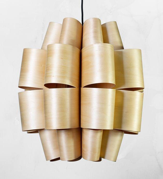 Závěsné stropní svítidlo CINTA, dřevěné   claro. - nature inspired
