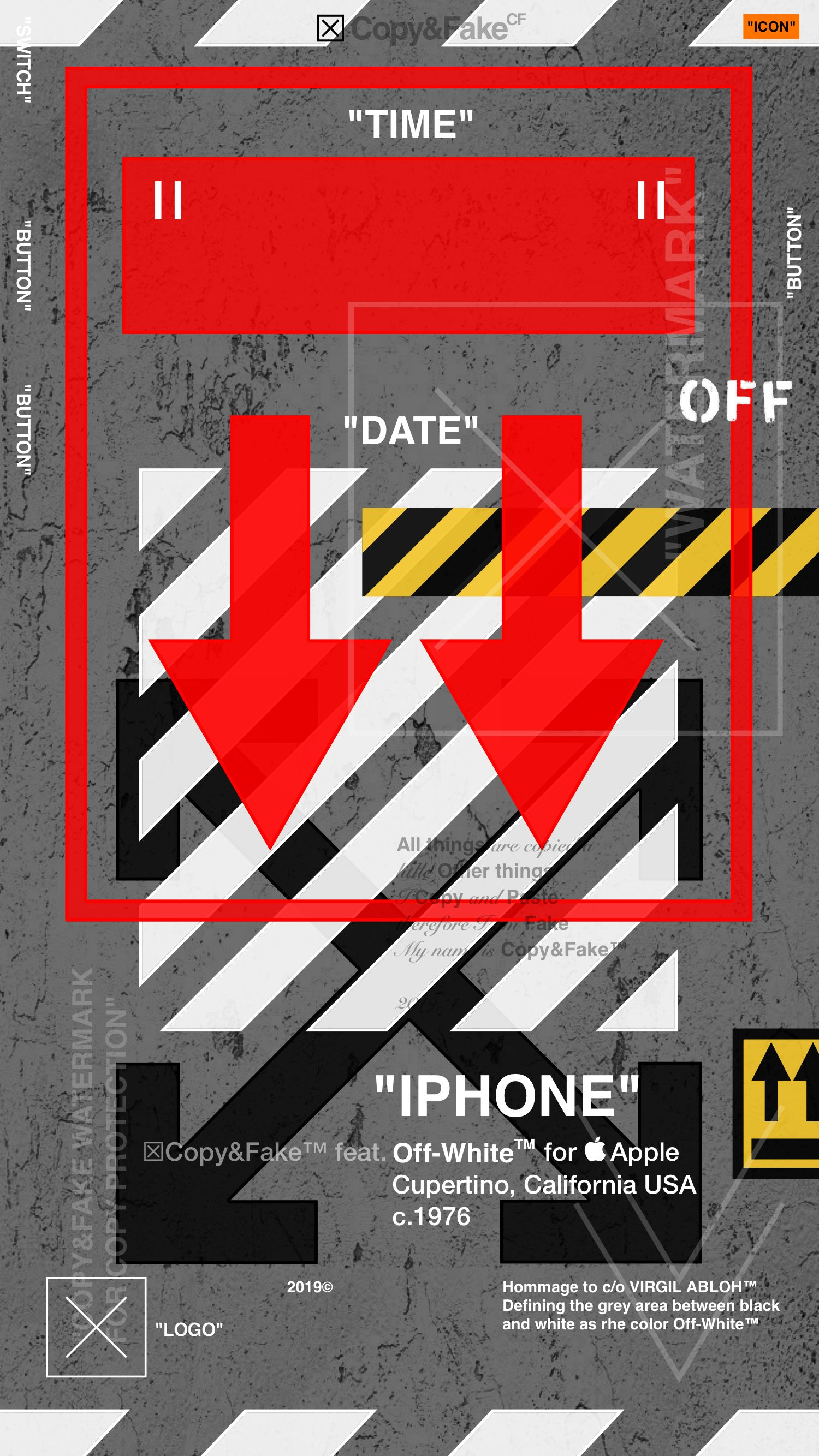 Off White Wallpaper For Iphone Down Arrows Iphone Wallpaper Off White White Wallpaper For Iphone Dark Wallpaper Iphone