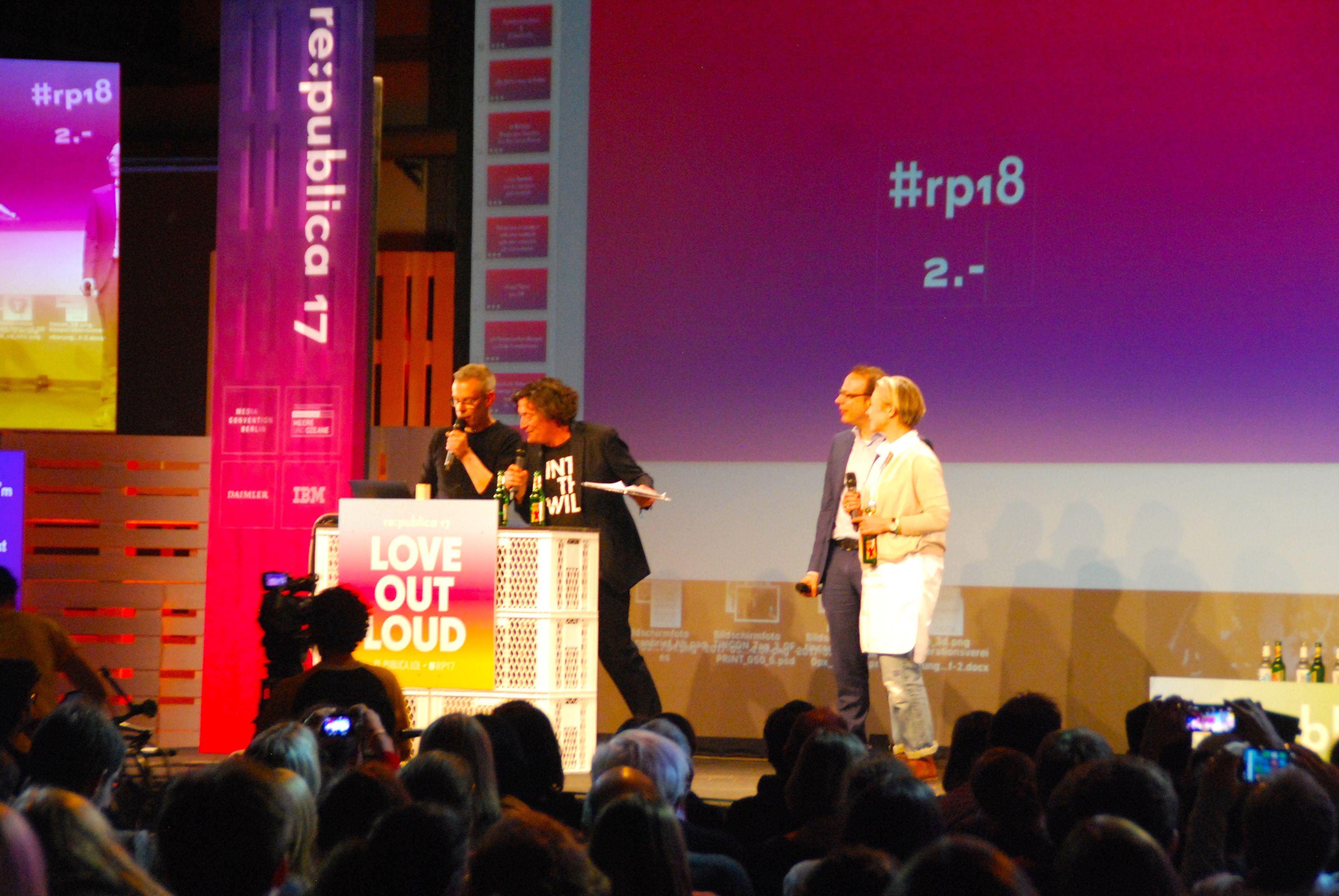 Lob geht runter wie Öl :-) #rp17 #hrfestival #rp18