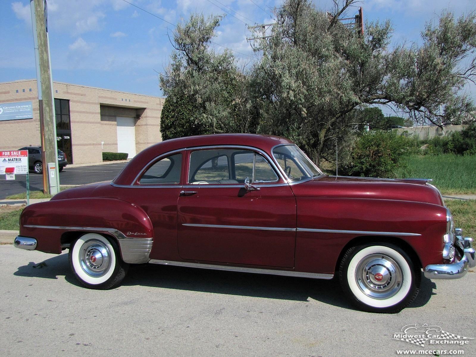 1951 Chevrolet Styleline Deluxe 2 Door Sport Coupe 1950s Cars Hardtop