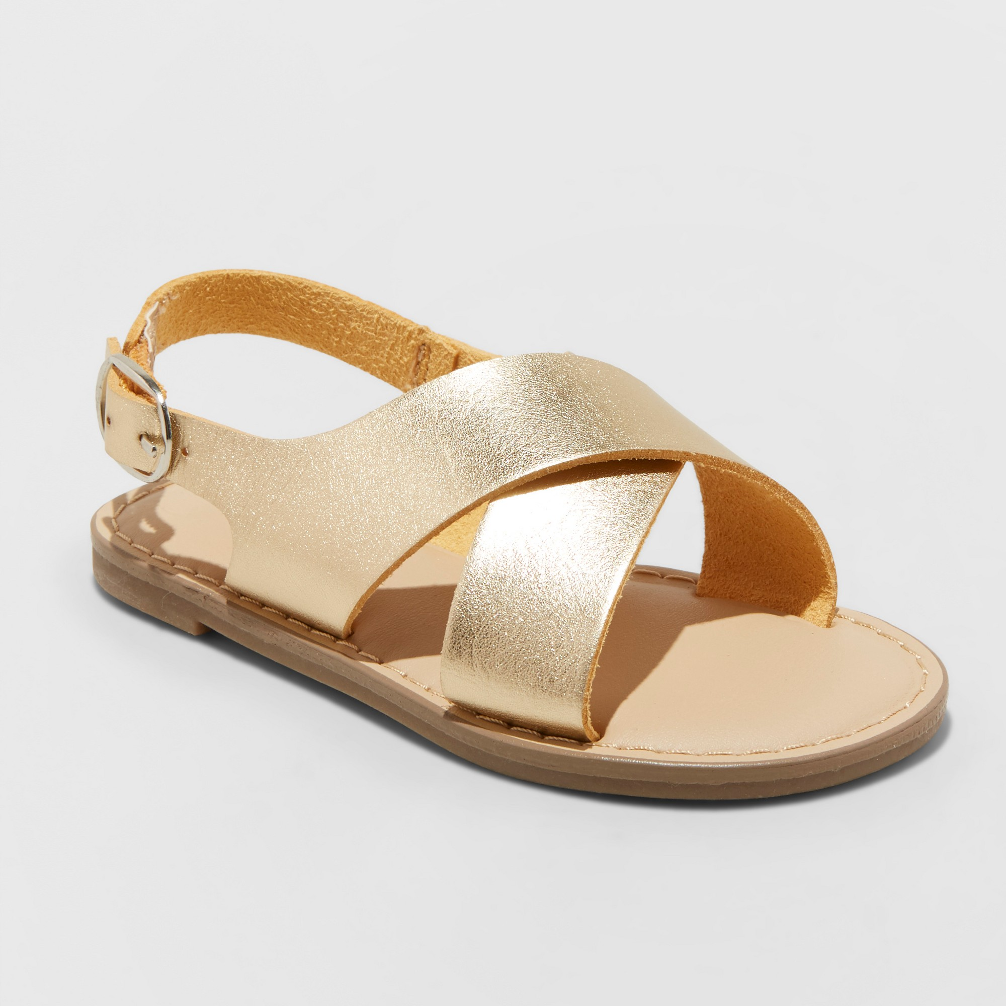 Toddler Girls/' Gail Two Piece Footbed Sandals Cat /& Jack Blue
