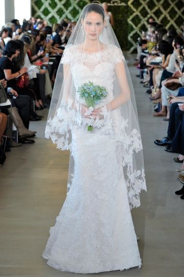 Oscar de la Renta SS13 Dress 23 | Martha Stewart Weddings | My dream ...