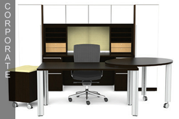 Modern Corporate Office Desk Atlanta With Images
