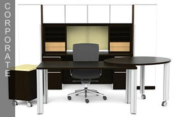 Modern Corporate Office Desk Atlanta Healthcare Furniture