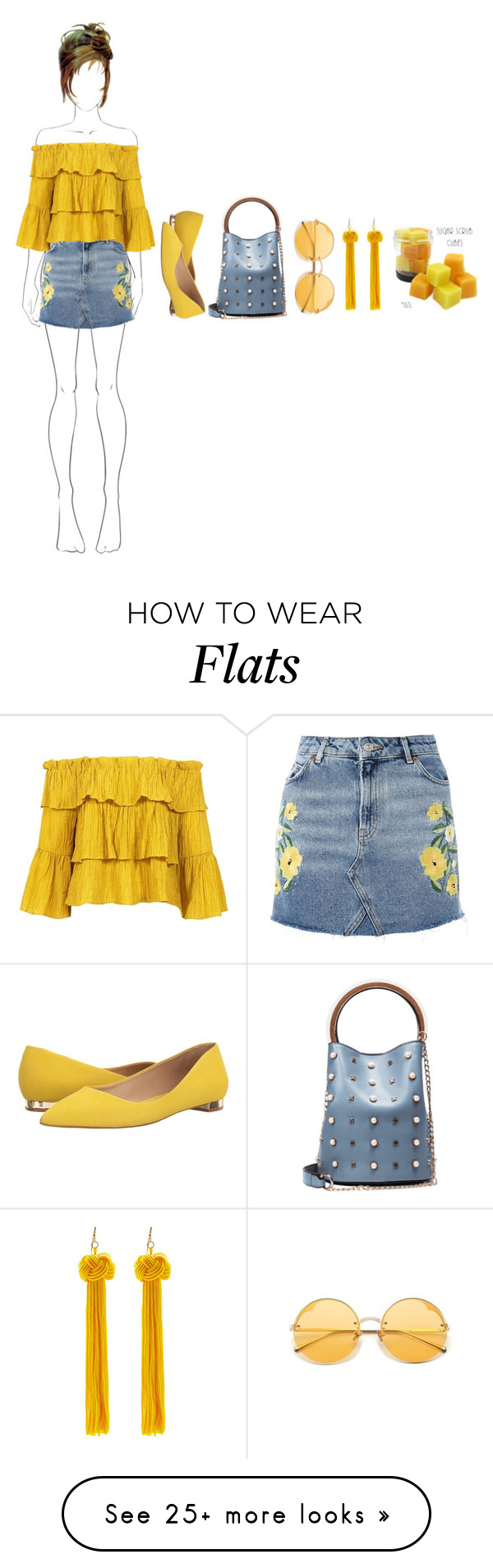 """""""SUGAR SUGAR"""" by paula-parker on Polyvore featuring Topshop, Sans Souci and Massimo Matteo"""