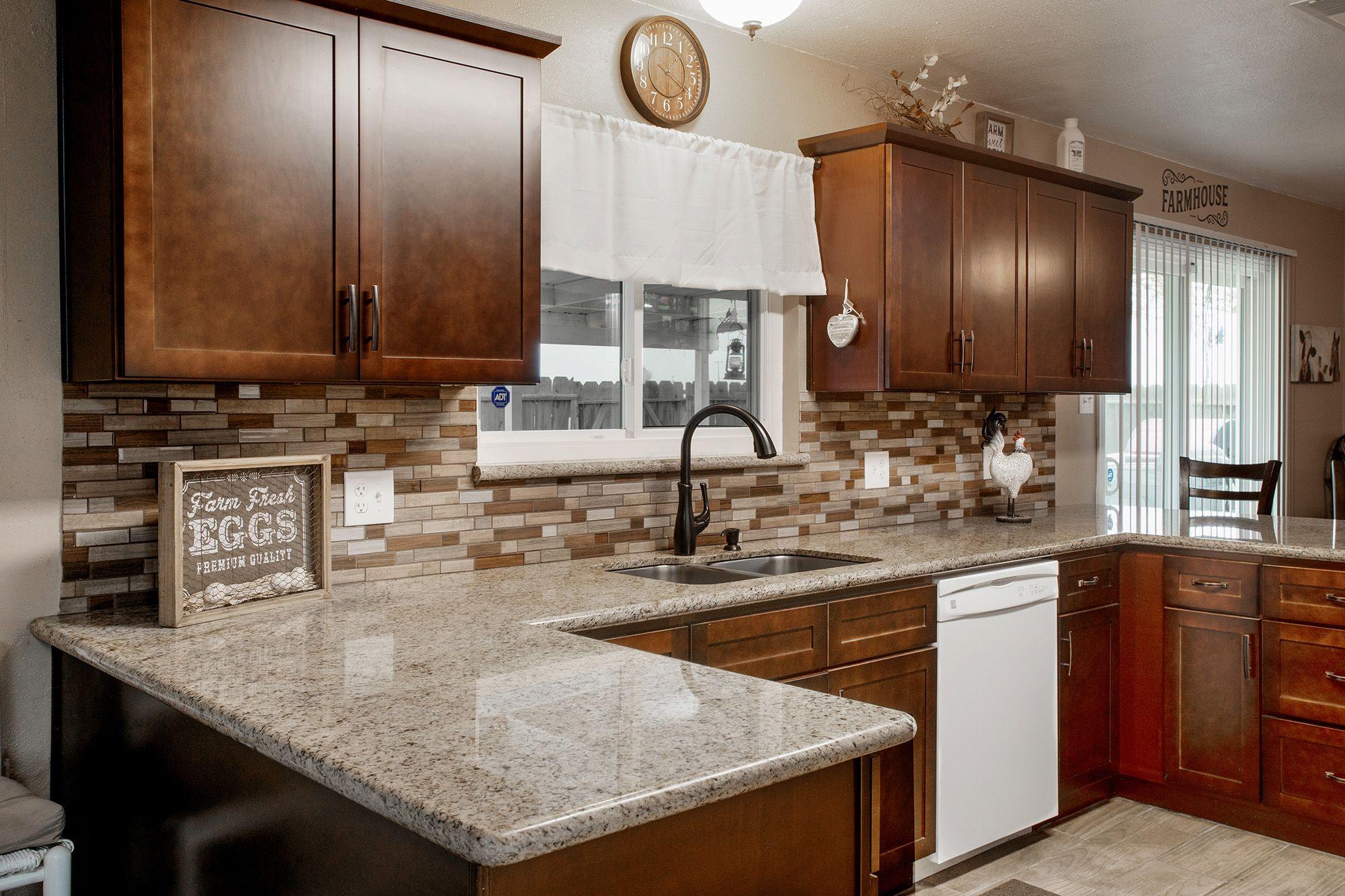 Mto0332 Modern Linear Brown Glossy Wood Grain Recycled Glass Mosaic Tile Mosaic Backsplash Kitchen Kitchen Plans Kitchen Design