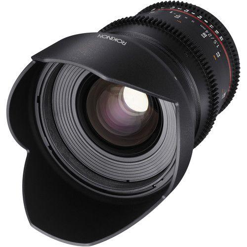 Rokinon 24 35 50 85mm T1 5 Cine Ds Lens Bundle For Canon Ef Mount Canon Lens Iris Ring Lenses